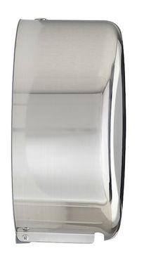 Rossignol Lensea Toilettenpapierspender aus Edelstahl mit großem Kontrollfenster – Bild 6