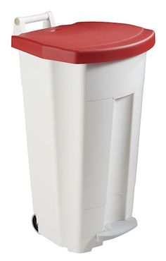 Rossignol boogy mobile pedal bin 90 liter with wide outer pedal and large handle – Bild 5