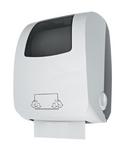 "JVD ""Cleantech"" weißer Papierhandtuchspender 899845 aus ABS Kunststoff"