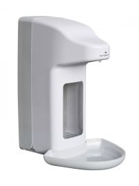 MediQo-line automatic soap dispenser made ​​of plastic aviable in 500 ml or 1000 ml