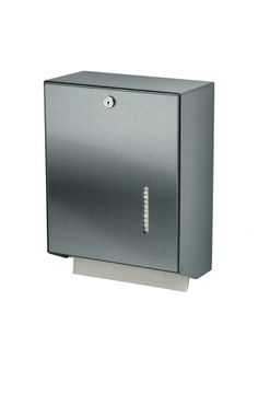 MediQo-line big lockable towel dispenser made of stainless steel or aluminium – Bild 3