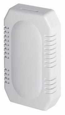 MediQo-line kleiner Lufterfrischer aus Kunststoff in Weiß oder Edelstahl-look zur Wandmontage – Bild 1