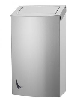 Wings waste bin closed available in 9L, 20L and 56L made of stainless steel – Bild 3