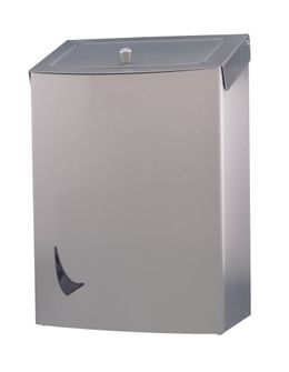 Wings hygiene waste bin in stainless steel – Bild 2