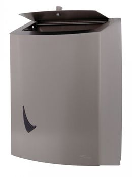 Wings hygiene waste bin in stainless steel – Bild 3