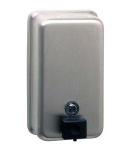 BOBRICK B-2111 soap dispenser vertical 1,2 L stainless steel satin finish – Bild 1