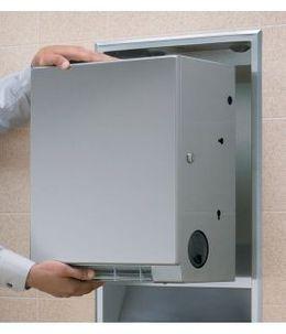 Bobrick 3961-50 konvertierbarer berührungsfreier Papierhandtuchrollenspender – Bild 2