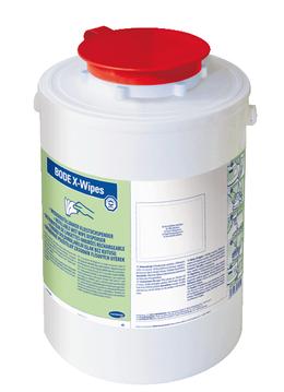 X-Wipes Tuchspender aus Kunststoff zur Flächen Desinfektion SET 4 Stück – Bild 2