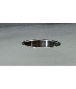 Bobrick B-529 Countertop mounted circular waste chute stainless steel – Bild 1
