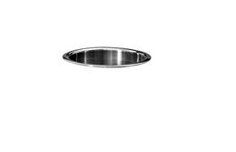 Bobrick B-529 Countertop mounted circular waste chute stainless steel – Bild 3