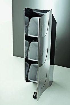 Graepel High Tech Slurp Dustbin with three separated compartments – Bild 2