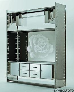 Graepel High Tech hochwertiges H2 Rose Giant Regalsystem aus Edelstahl – Bild 2