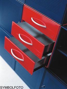 Graepel High Tech 3 hochwertige Schubladen aus lackiertem Stahl – Bild 1