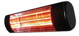 Heatlight black aluminium infrared technology heater 1500W - for outdoor use – Bild 1