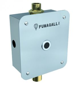 Fumagalli flushing system for urinal - brass - stainless steel - with photocell – Bild 1