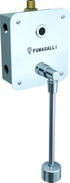 Fumagalli semi recessed flushing system for urinal - stainless steel - photocell – Bild 1