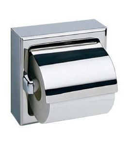 Bobrick Surface-Mounted Toilet Tissue Dispenser with Hood