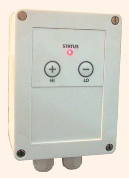 Heatlight controller for adjusting the heat output - infrared heaters - to 1.5KW