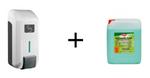 "SET JVD Eco ""Gel"" Seifenspender 700 ml + Eilfix Cremeseife Apfel 5 Liter"