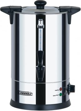 Casselin hot water dispenser in stainless steel 6.8 liters - anti-burn - anti-drip