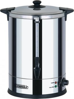 Casselin hot water dispenser 20l - double-wall stainless steel 2500W - anti-burn