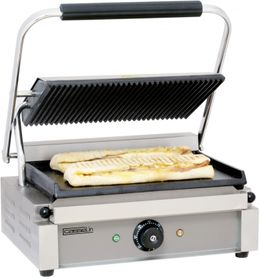 Casselin toast grill with grooved or smooth underside made of cast iron 2200W – Bild 2
