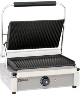 Casselin toast grill with grooved or smooth underside made of cast iron 2200W – Bild 1