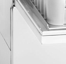 Casselin Geschirrspülmaschine 500 aus Edelstahl 3600W - erhältlich in 3 Versionen – Bild 3