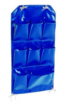 "IPC Euromop blue pvc holder with 8 pockets suitable for ""X"" trolley"