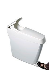 Feminine hygiene bins - Sanibin 20 liter - With handle and foot pedal - Very hygienic – Bild 4