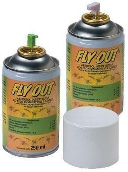 SET Spray Spender Maxi MF Insekten Sprayspender + 6x Insektizid Insekten Aerosol Fly Out 250ml – Bild 2