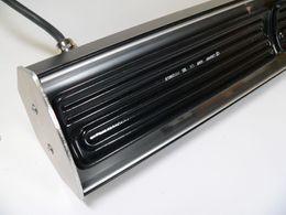Pub Sun black ceramic infrared heater model 1300 Watt of Elbo Therm – Bild 3