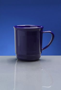 20 piece Mulled wine cup  0,2 L SAN of Plastic in blue – Bild 2