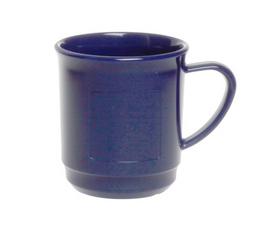 20 piece Mulled wine cup  0,2 L SAN of Plastic in blue – Bild 1