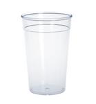 20er Set Kunststoff Mehrweg-Becher glasklar 0,5l PC wiederverwendbar stapelbar
