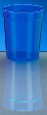 20 stuks bekers 0,25l - blauw - kunststof – Bild 2