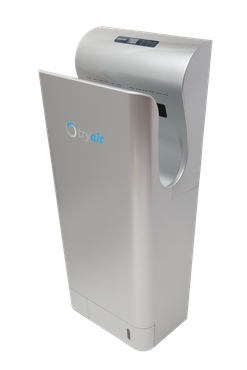 tryair electric, innovative and modern hand dryer with clever technology white/silver – Bild 7