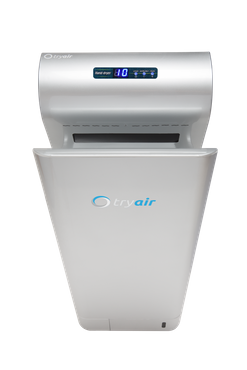 tryair electric, innovative and modern hand dryer with clever technology white/silver – Bild 8