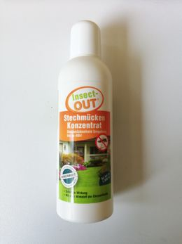 Insect-OUT® Mosquito Concentrate 100 ml - With the active ingredient of chrysanthemum