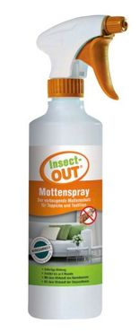 Insect-OUT® Moth Spray 500 ml for immediate action keeps away all kinds of moths