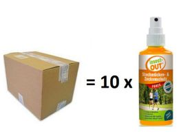 Set 1 carton with 10 pieces Insect-OUT® Mosquito & Tick protection forte 100 ml – Bild 1