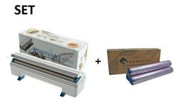 SET Efficient Wrapmaster dispenser 4500 and cling film 4500 from Polyethylene