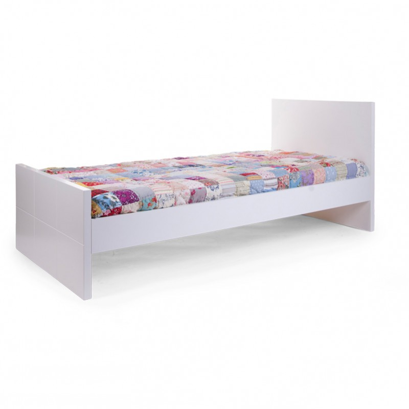 Childwood b200qn quadro white bed 90x200 base baby for Couch 90x200