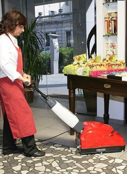 CIMEL Turbolava Plus 35 floor scrubber - electric or with lithium battery – Bild 4