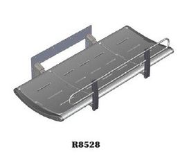 Pressalit shower/nursing bench fixed wall mounting, in 2 sizes: 1300mm or 1800mm – Bild 2