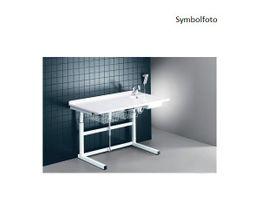 Pressalit weißer Wickeltisch mit sanitären Artikeln 800 x 1800 mm mit Motor  – Bild 1