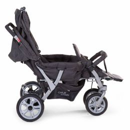 Childwheels Triplet stroller anthracite 3 children + rc – Bild 4