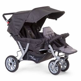 Childwheels Triplet stroller anthracite 3 children + rc – Bild 1