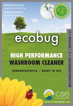 EcoBug® High Performance Washroom Cleaner - Ready to use  1 L – Bild 2