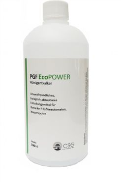 PGF Eco Power - decalcifying agent 500ml - for drinks and coffee machines